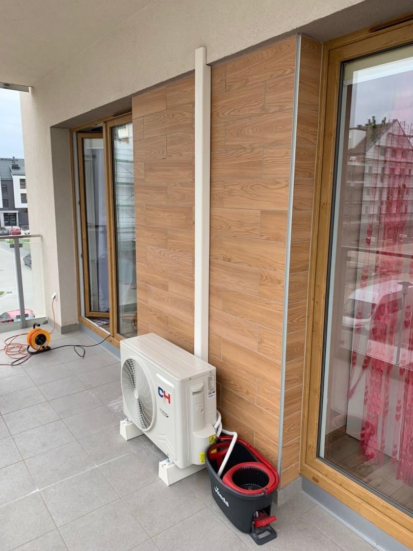 Montaż klimatyzacji  C&H SIGMA  w mieszkaniu